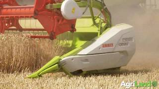 Next-generation Claas Lexion combines in action!