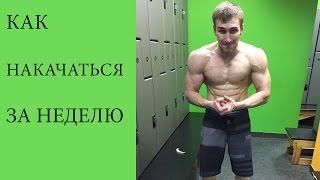 Как накачаться дома за одну неделю(В этом видео я покажу самые крутые и секретные упражнения для накачки. Занимаясь по этой методике, вы сможет..., 2016-06-20T21:20:21.000Z)