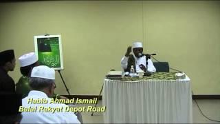 Habib Ahmad Ismail : Mendidik keluarga mencintai Allah dan Rasul SAW