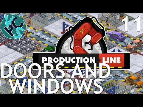 Doors and Windows : Let's Play Production Line EP11 - Alpha 1.30 Manufacturing Tycoon Gameplay