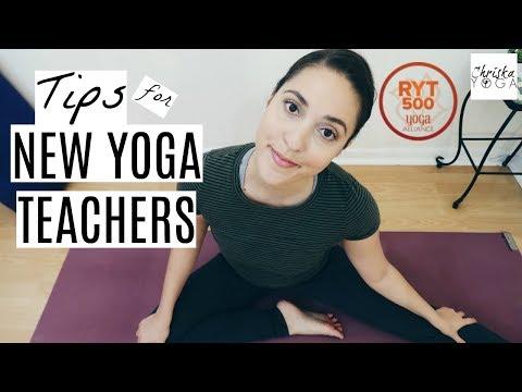 Tips for New Yoga Teachers   What To Do After a Yoga Teacher Training   ChriskaYoga