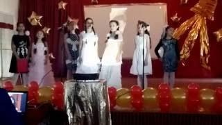 Выступление моих учащихся  на Праздничном концерте в честь окончания начальной ступени обучения