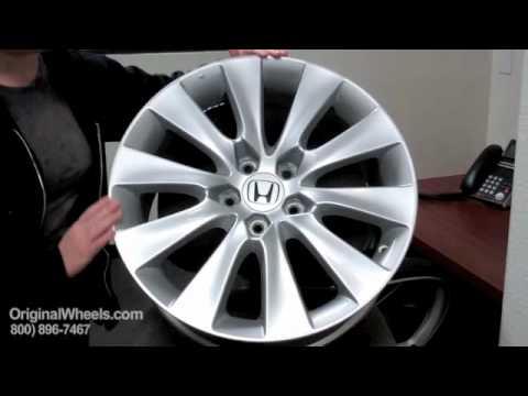 Crosstour Rims Amp Crosstour Wheels Video Of Honda Factory
