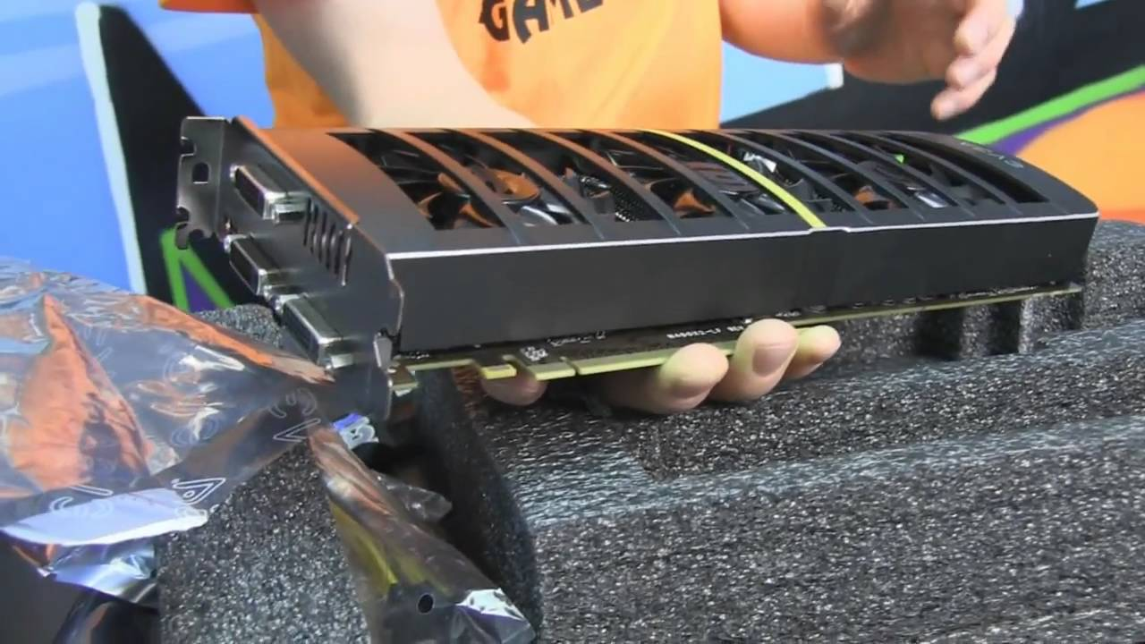 EVGA GTX 460 2WIN Unboxing & First Look Linus Tech Tips