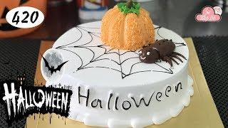 chocolate cake decorating bettercreme vanilla (420) Học Làm Bánh Kem Đơn Giản Đẹp - Halloween1 (420)