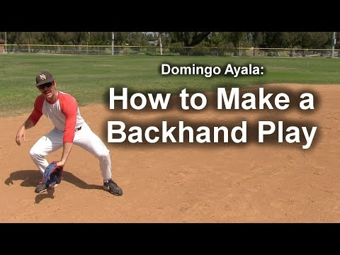 How to Make a Backhand Play with Domingo Ayala