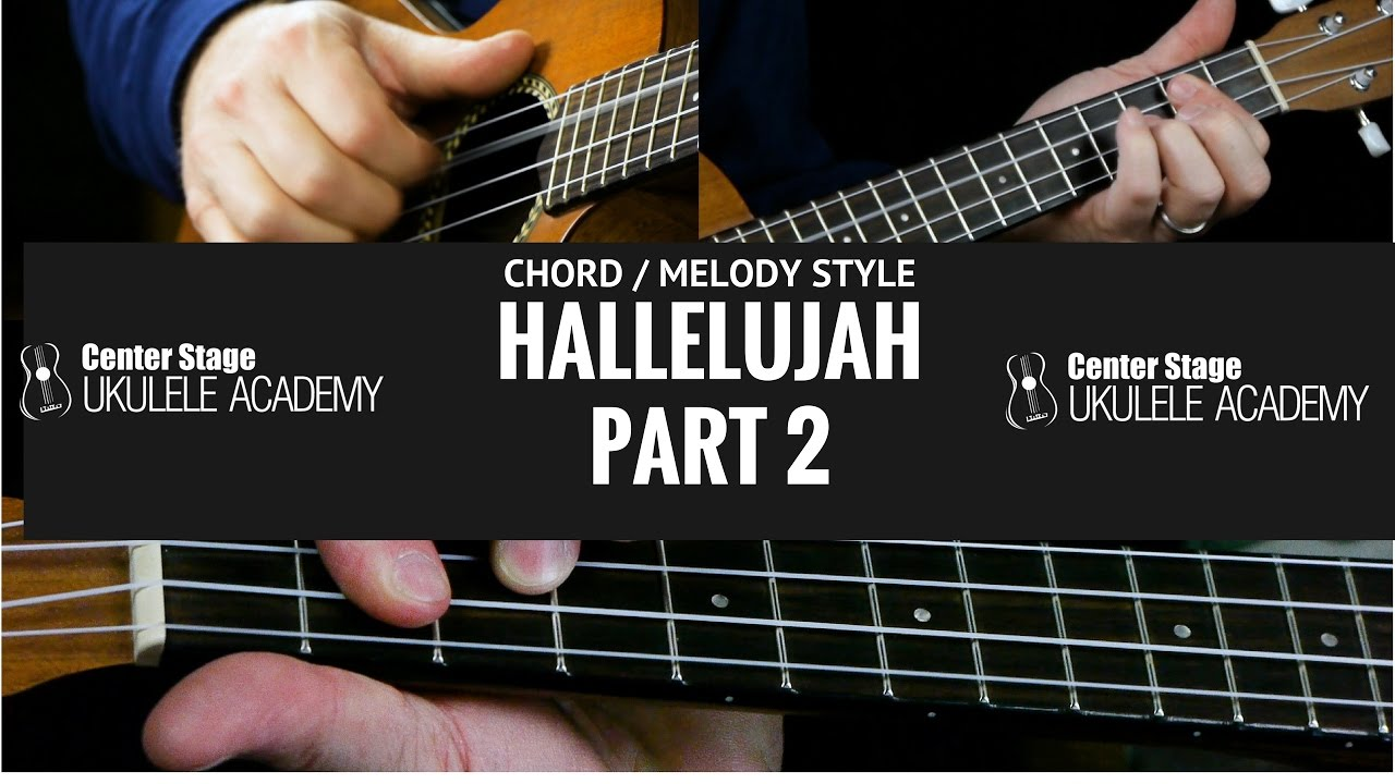 How to play hallelujah chord melody style part 2 youtube how to play hallelujah chord melody style part 2 hexwebz Choice Image