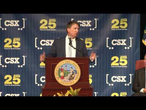 Rocky Mount CSX Announcement