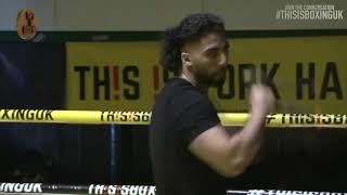 B YOUNG PERFORMING LIVE AT THIS IS BOXING SEASON 2