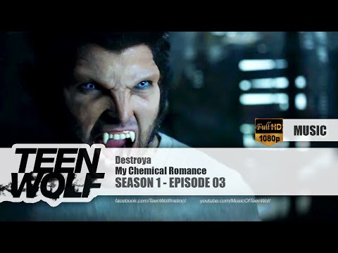 My Chemical Romance - Destroya | Teen Wolf 1x03 Music [HD]