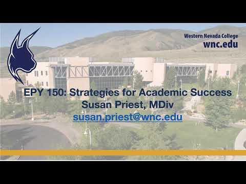 EPY 150 Promo Video 2020 - Western Nevada College