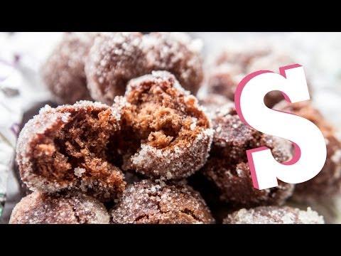 Chocolate Potato Donuts Recipe - SORTED