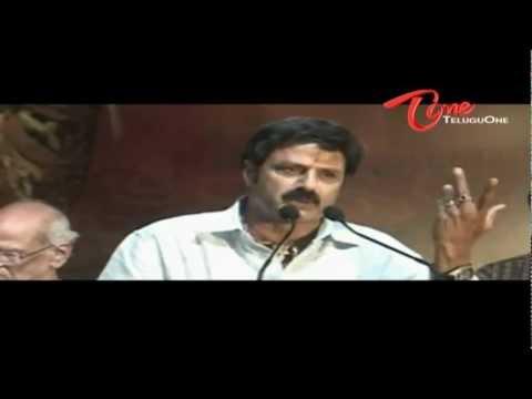 Bala Krishna Warns Ram Charan Teja? - Star War
