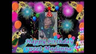 Video Happy Birthday ~ Madonna 60 download MP3, 3GP, MP4, WEBM, AVI, FLV Juli 2018