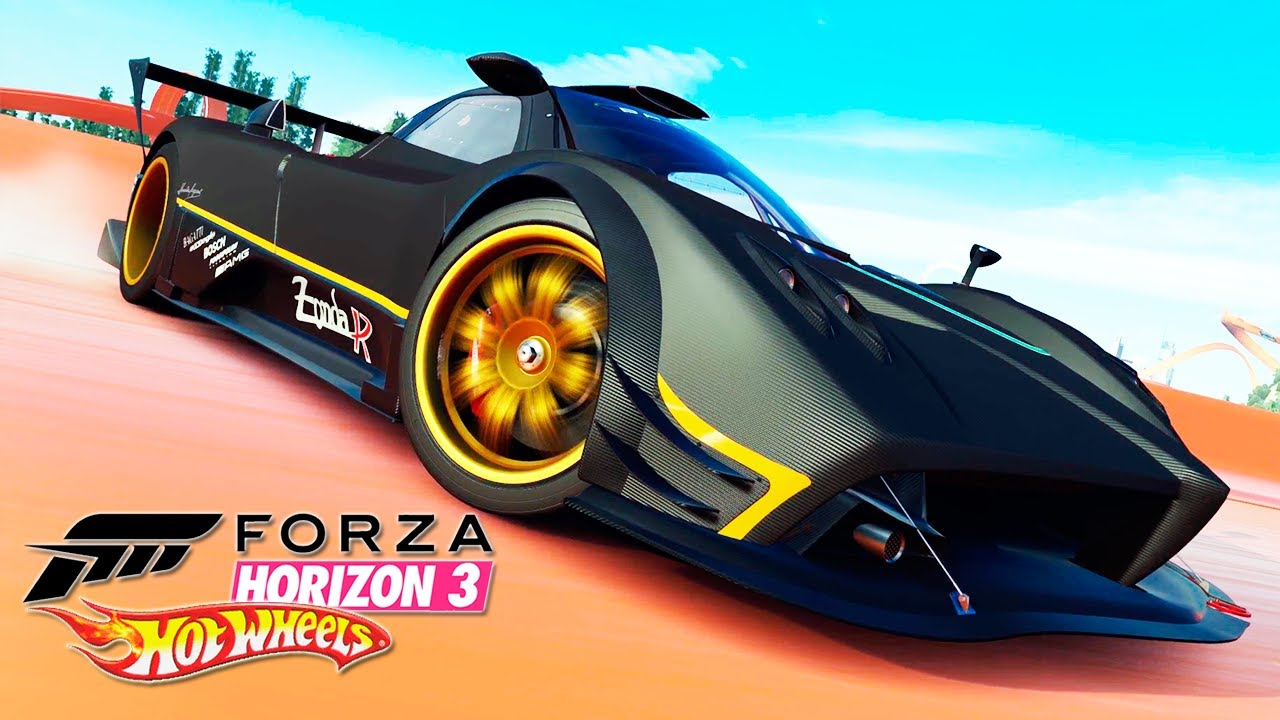 PAGANI ZONDA R | #17 | FORZA HORIZON 3 HOT WHEELS - YouTube