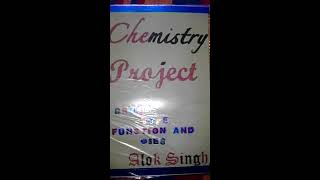 Chemistry Everyday Life Projects