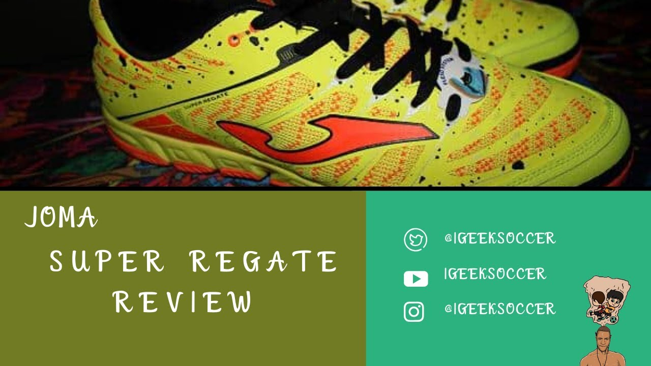 658288c7d77 Joma Super Regate Soccer Shoe Review - YouTube