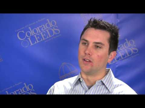 Josh Winer, Leeds MBA Student