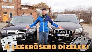 A legdurvább dízelek: Audi V12 TDI és Volkswagen V10 TDI