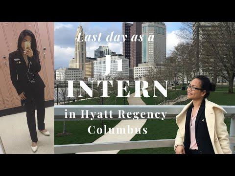LAST DAY WORKING IN HYATT!!! as a J1 Intern