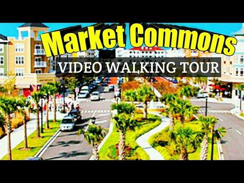 Myrtle Beach, Sc Video Tour (Part 1) Market Commons