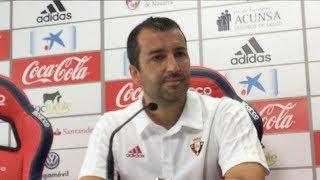 Diego Martínez. Previa Osasuna-Sevilla At.