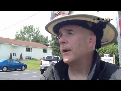 Malta Ridge Fire Dept Ast. Chief George Downs discussed the fire in Malta at 424 Eastline Road