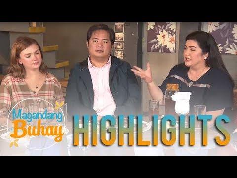 Magandang Buhay: Smokey and Nadia reveal how † s Angelica Panganiban as a person