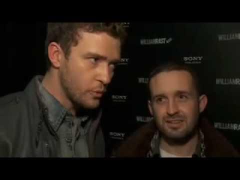 Justin Timberlake y Trace Ayala en la Semana de la Moda de NY