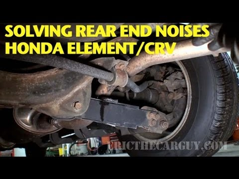 Finding and Repairing Rear End Noise Honda Element CRV