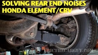 Finding and Repairing Rear End Noise Honda Element/CRV -EricTheCarGuy