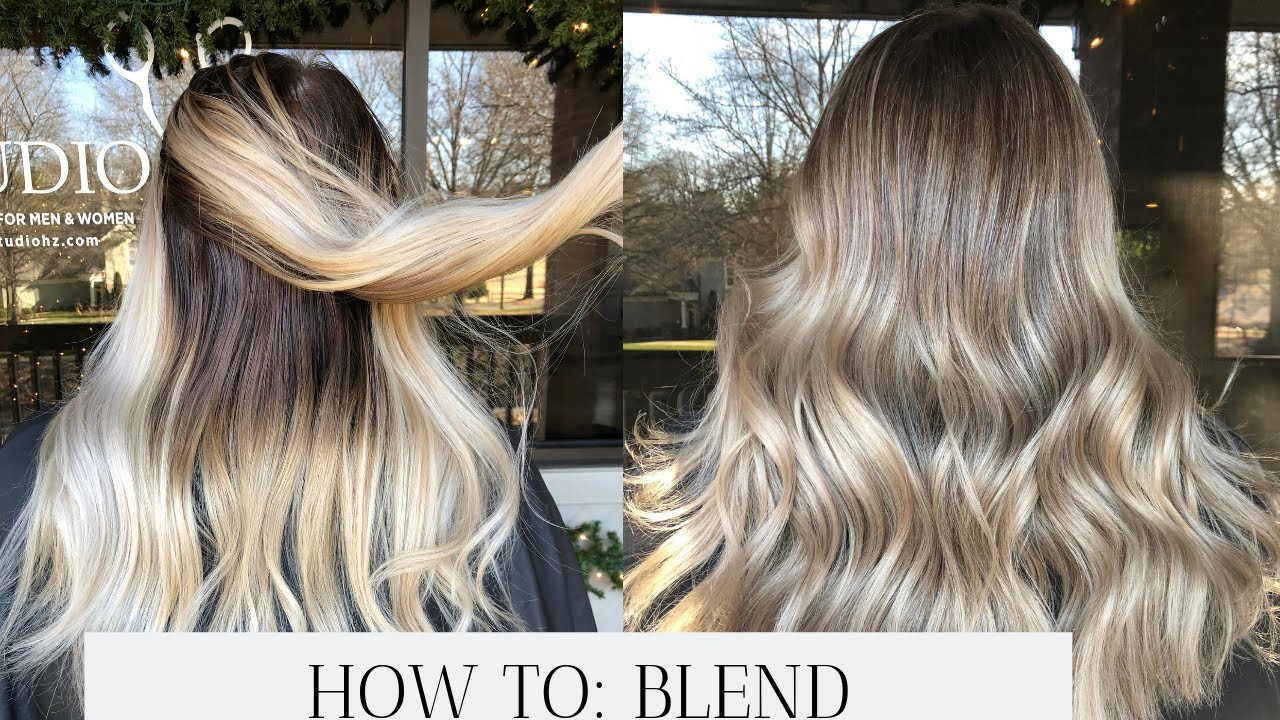 Reverse Balayage How To Convert All
