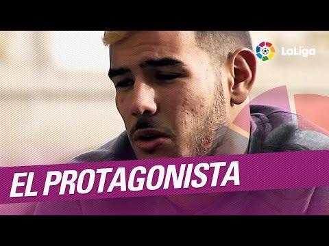 El Protagonista: Theo Hernández, jugador del Deportivo Alavés
