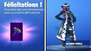 "I DEBLOQUE LVL MAX SKIN ""CALAMITE"" AND PIOCHE ""ADJURATRICE"" on FORTNITE BATTLE ROYALE!"