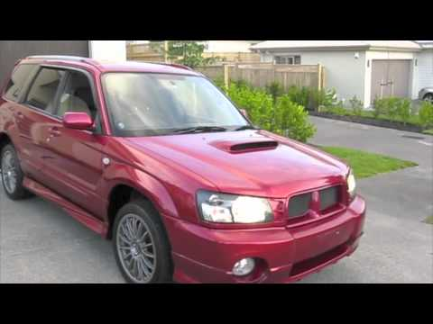 2003 Subaru Forester Xt Youtube