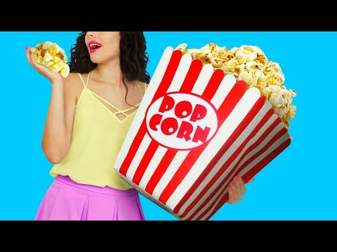 7 DIY Giant Snack vs Miniature Snack / Funny Pranks!