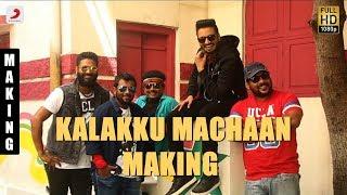 Sakka Podu Podu Raja - Kalakku Machaan Making Video | Santhanam | STR | Anirudh