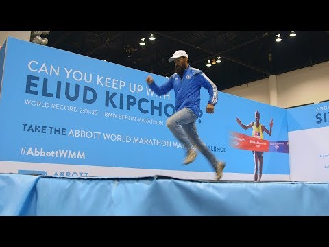 Runners Attempt Eliud Kipchoge's World Record Marathon Pace