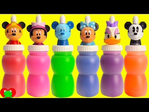 Mickey Mouse and Minnie Daisy Slime Surprises