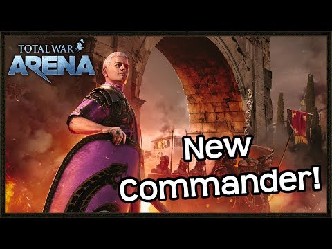New Commander Enters Total War Arena! - SULLA Gameplay