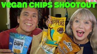 ULTIMATE Vegan Chips Shootout! Organic, GMO free, Gluten Free
