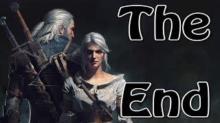 Ведьмак 3 Каменные сердца The Witcher 3 Hearts of Stone Конец Игры Фин Концовка The End Fin