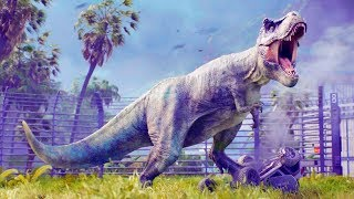 "Игра ""Jurassic World: Evolution"" (2018) - трейлер анонса (Gamescom 2017)"