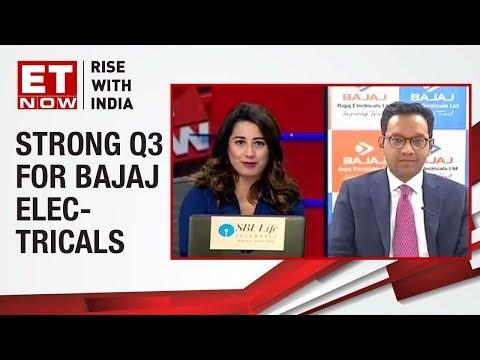 Anuj Poddar, Executive Director of Bajaj Electricals speaks on strong Q3