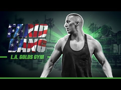 Farid Bang  I Training Im Gold's Gym  I