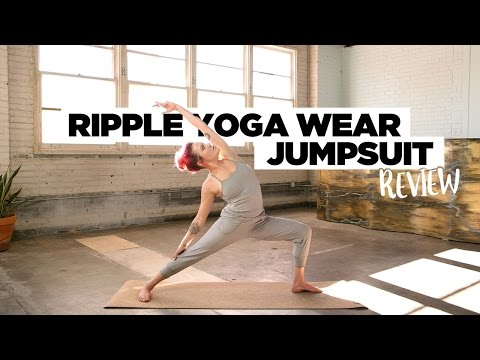 Review Of Ripple Yoga Wear's One Piece Jumpsuit - We Likey!