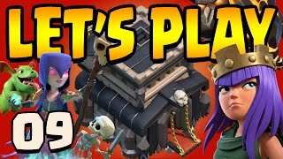 Clash of Clans: Let's Play TH9!! ep9 - That 7,000,000 gold WALL GRIND!!!