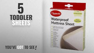 Top 10 Toddler Sheets [2018]: Clippasafe Waterproof Mattress Sheet (Single Bed)