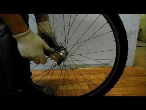 Как легко  устранить люфт на колесе велосипеда