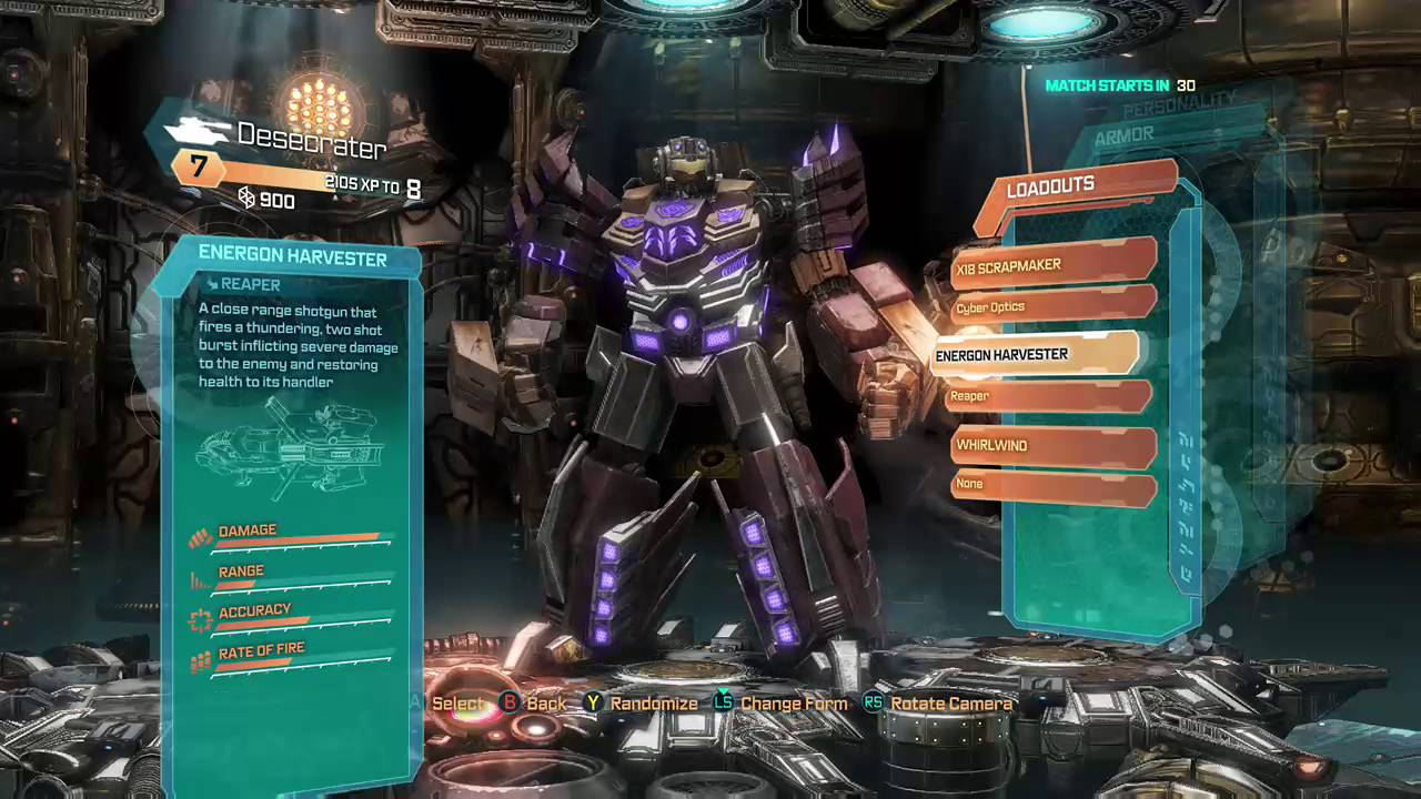 Sggaminginfo » transformers: fall of cybertron (xbox 360) review.